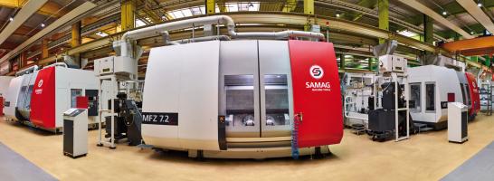 SAMAG Meerspindelbewerkingscenters