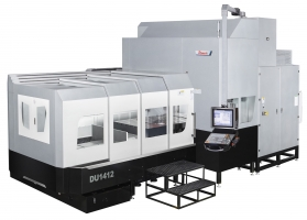 PINNACLE launches 5-axis portaalfreesmachine  DU1412