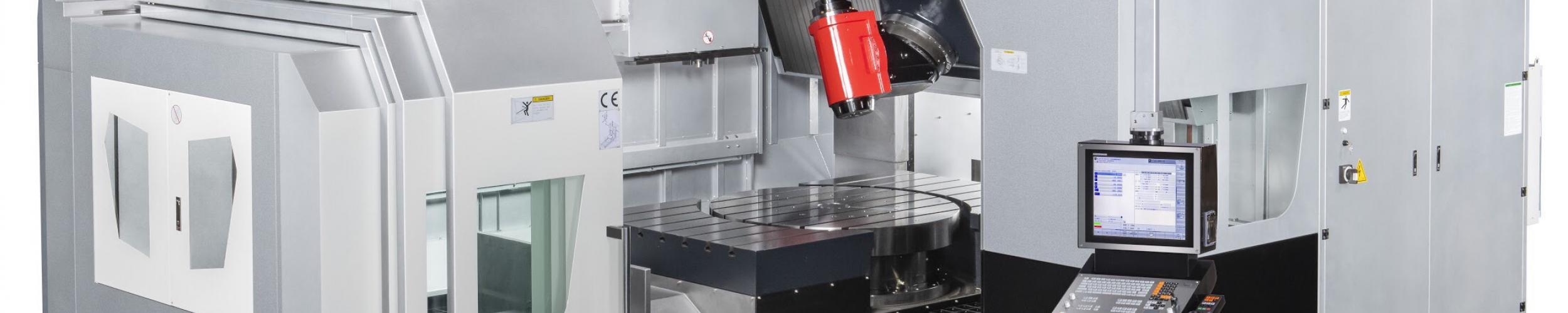 PINNACLE launches 5-axis portaalfreesmachine  DU1412